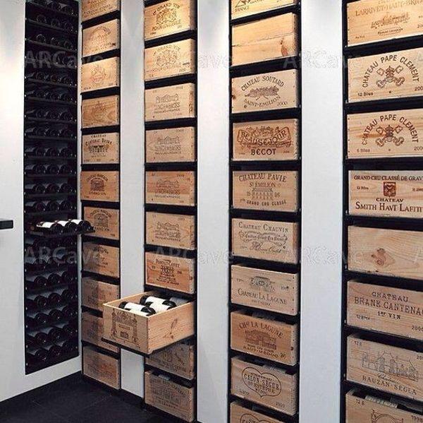 cave vin sur mesure inspirations la pi ce. Black Bedroom Furniture Sets. Home Design Ideas